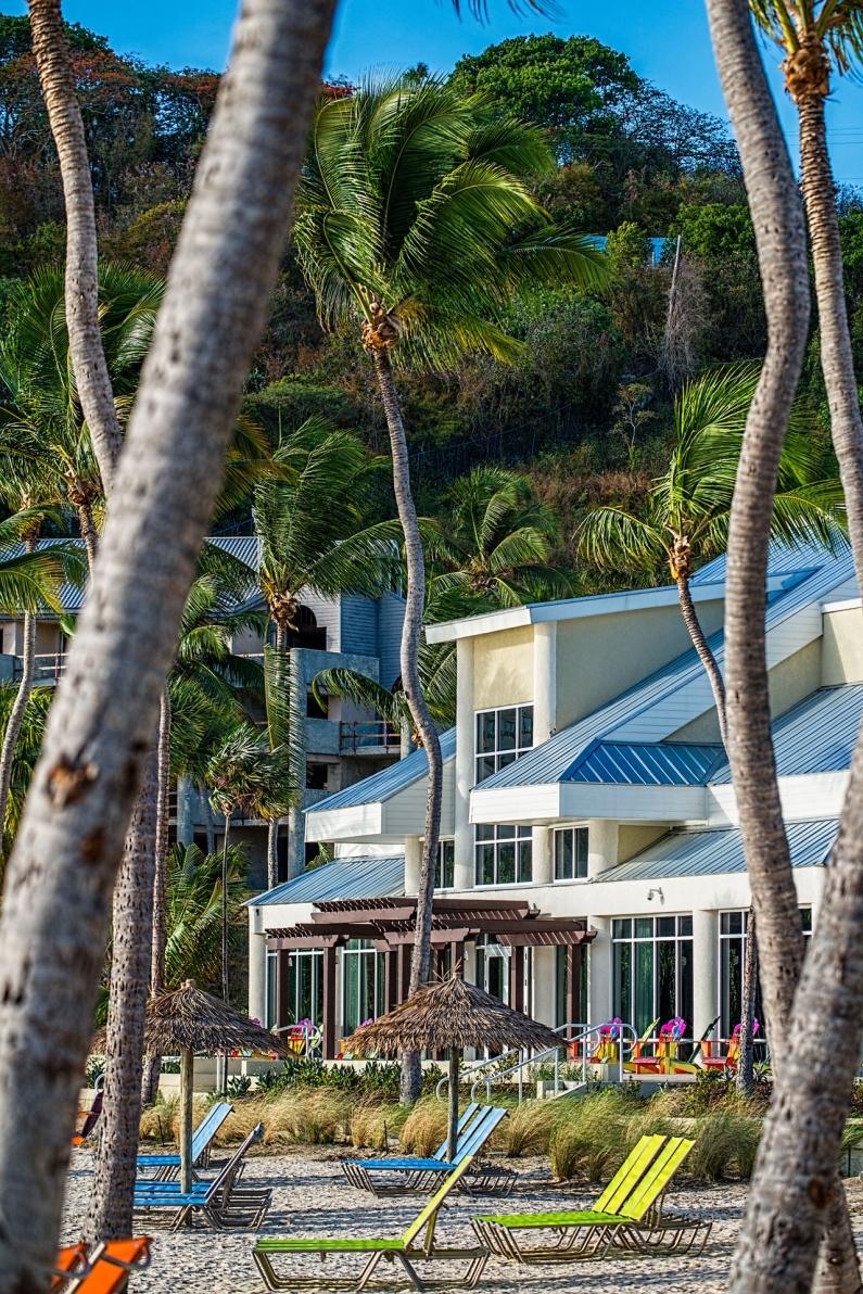 A beautiful Caribbean resort